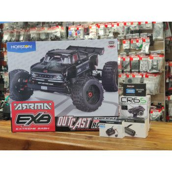 SUPERSTUNT ARRMA Outcast 8S EXB Roller 1/5 - Hobbywing