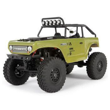 SCX24 Deadbolt 1/24 4WD Rock Crawler RTR, Green