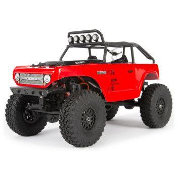 SCX24 Deadbolt 1/24 4WD Rock Crawler RTR, Red