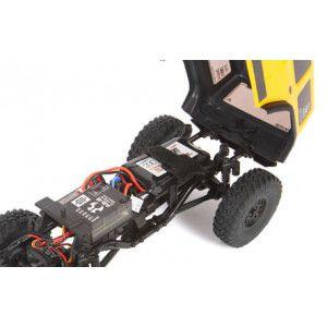 1/24 SCX24 2019 Jeep Wrangler JLU CRC 4WD crawler yellow