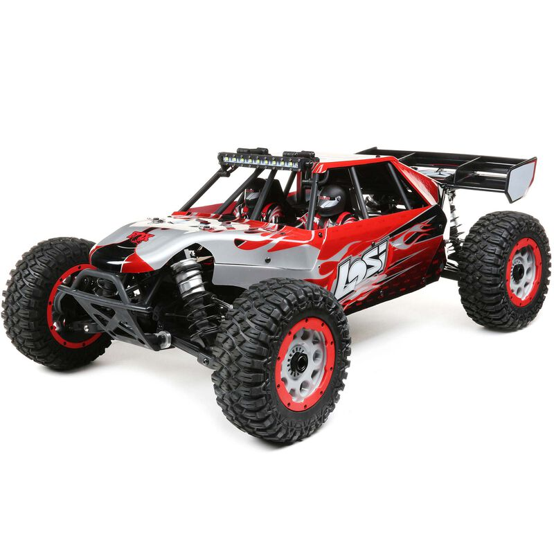 Losi 1/5 DBXL-E V2 2.0 4WD Brushless Desert Buggy RTR with Smart, Losi Body