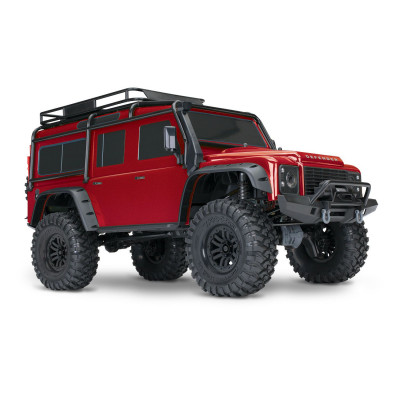 Traxxas TRX-4 Land Rover Defender Crawler RTR 1/10 Red
