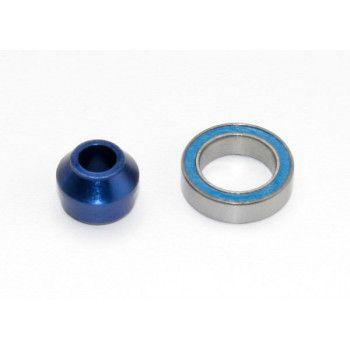 Traxxas Bearing Adapter Alu Blue TRX6893X