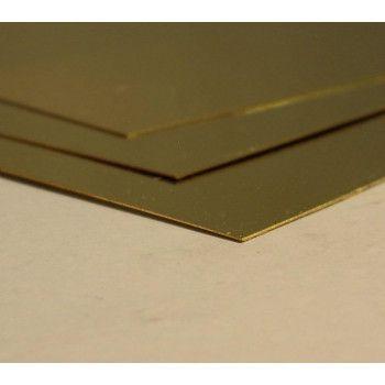 Brass Plate 400x200mm |  2.0mm