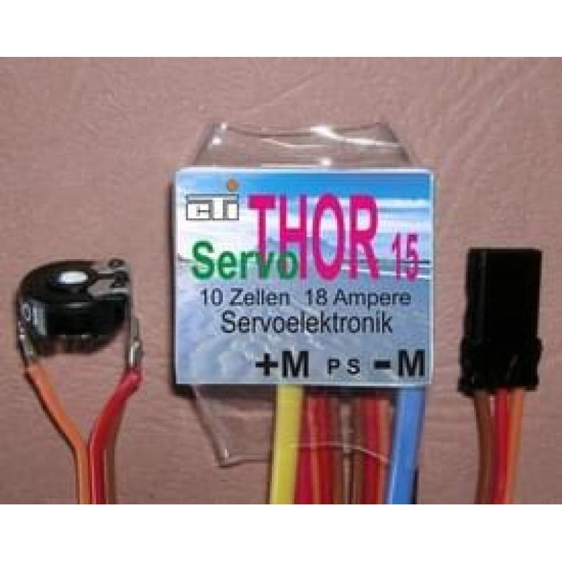CTI Thor 15 Servo motorelektronica 18A