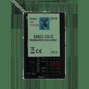 Beier MSC-10 Multiswitch for Carson 14 Channel