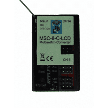 Beier MSC-8 Multiswitch for Carson 14 Channel LCD
