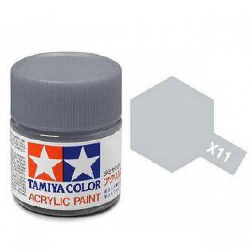 Goede Wetronic   Tamiya Verf X-11 Chroom Zilver Glans 23ml ZD-31