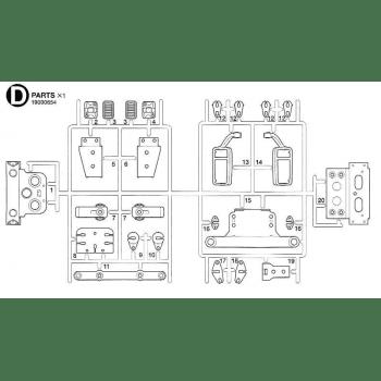 Freightliner Cascadia Parts D (D / 19000654) 1/14