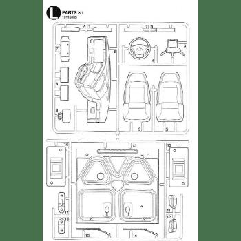 Freightliner Cascadia Interior Parts L (L / 19115393) 1/14