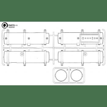 Freightliner Cascadia Fuel Tanks Parts Q (Q / 19225161) 1/14