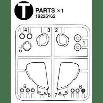 Freightliner Cascadia Headlight Parts T (T / 19225162) 1/14