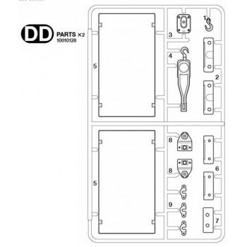Volvo FH16 Accessoires Parts (DD / 10010128) 1/14
