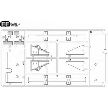 Volvo FH16 Cover Plates Parts (EE / 19004948) 1/14