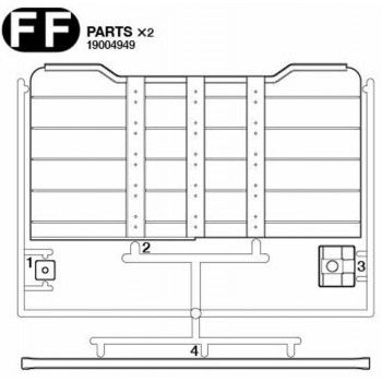 Volvo FH16 Log Protection Plate Parts (FF / 19004949) 1/14