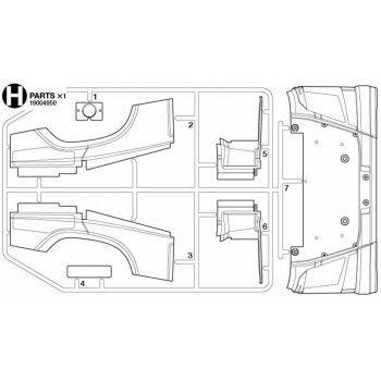 Volvo FH16 Front Bumper (H / 19004950) 1/14