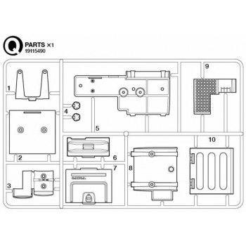Volvo FH16 Fuel Tank Parts (Q / 19115490) 1/14