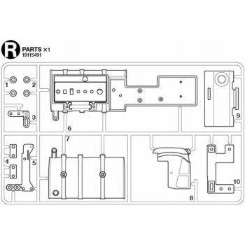 Volvo FH16 Fuel Tank Parts (R / 19115491) 1/14