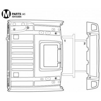 Volvo FH16 Roof (M / 19115494) 1/14
