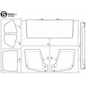 Volvo FH16 Windows Parts (S / 19115495) 1/14
