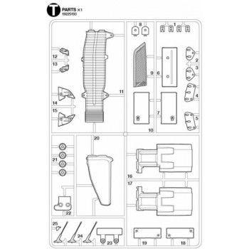 Volvo FH16 Air Intake Parts (T / 19225193) 1/14