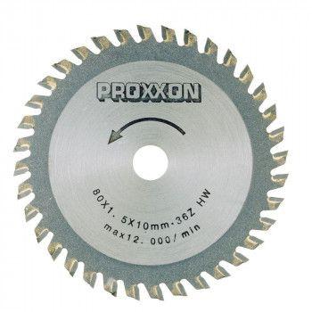 Proxxon Tungsten Sawblade 36T 80mm 28732