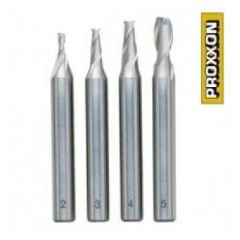 Proxxon Milling Cutter set (2-5mm) 4pcs