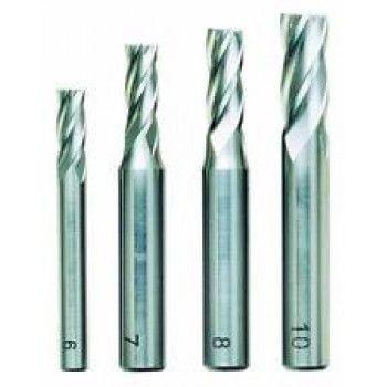 Proxxon Milling Cutter set (6-10mm) 4pcs