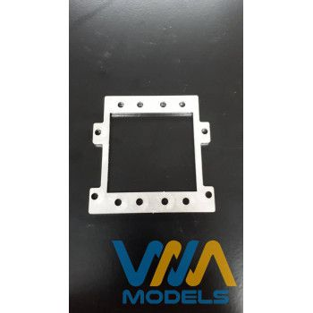 WIMA Stainless Double Servo Mount (1/14)