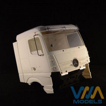 WIMA Side Window Mercedes Actros/Arocs Open 1/14