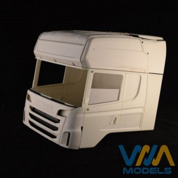 WIMA Side Window Tamiya Scania Half Open 1/14