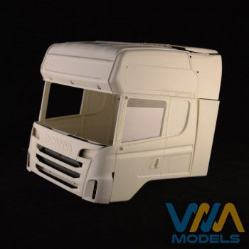 WIMA Side Window Tamiya Scania Quarter Open 1/14