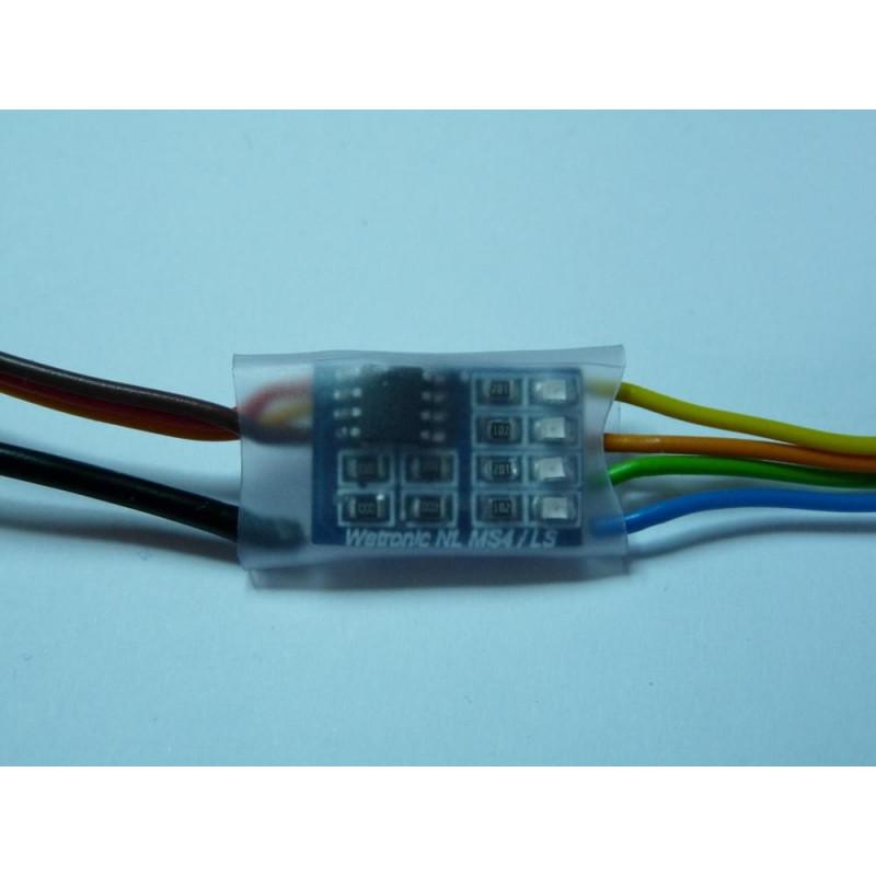 MS4 Turn Signal and Hazard Lights