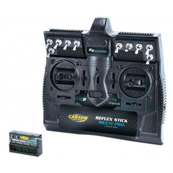Carson Reflex Stick 14 Channels 2.4Ghz compatabel with Tamiya MFC units