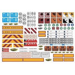 Decal Set Signs (1/14) 907086