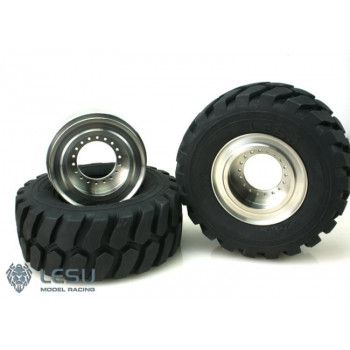Lesu Wheelloader Wheels Set (1/15)