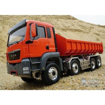 Lesu MAN TGS 8x8 with Container Loader (1/14)