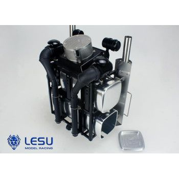 Lesu Heavy Equipment Rack for MAN/Universal G-6038 1/14