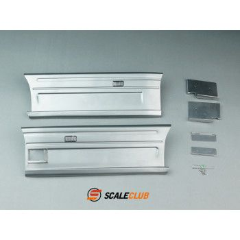 Scaleclub Metal Sideskirts for Tamiya Scania 4x2 Gen 2