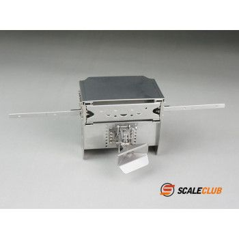 Scaleclub Stainless Frame End Mercedes with Coupler (1/14)