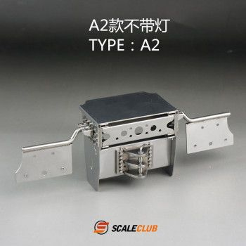 Scaleclub Stainless Frame End A2 (1/14)