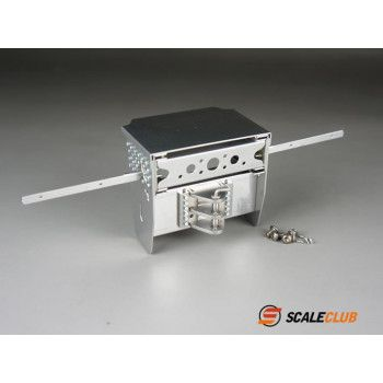 Scaleclub Stainless Frame End Mercedes (1/14)