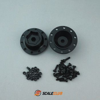 Scaleclub Wheel Hubs for Driven Front Axles (1/14)