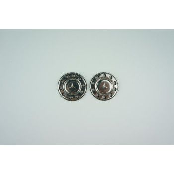 Scaleclub Stainless Wheel Cap Mercedes (1/14)